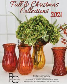 Pots Company Fall and Christmas Collection 2021 Catalog